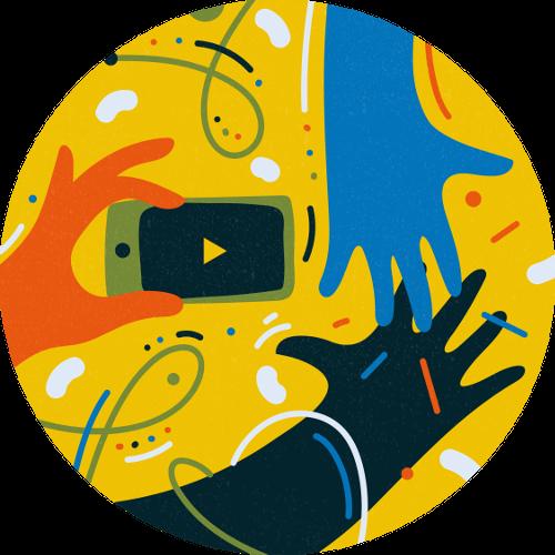 Illustration of B2B animations
